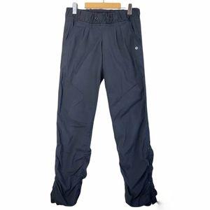 Lululemon Lined Dance Pant Ankle Zip Black 6